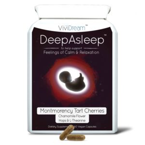 DeepAsleep Flat Bottle with Pills OCT